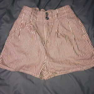 Urban Outfitters high waisted elastic band shorts